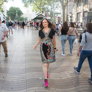 Las Ramblas. Barcelona. Photo by Weldon Weaver. June 2019.