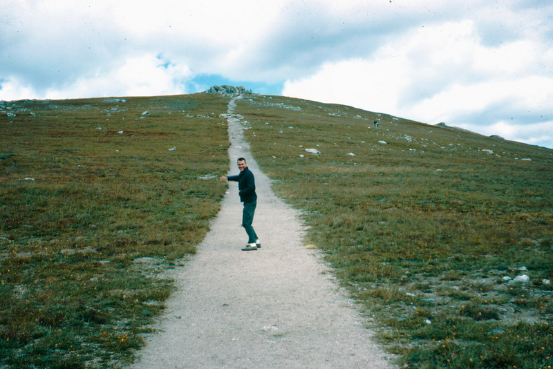 1965-09 - Rocky Mountain - Dwaine on tundra path