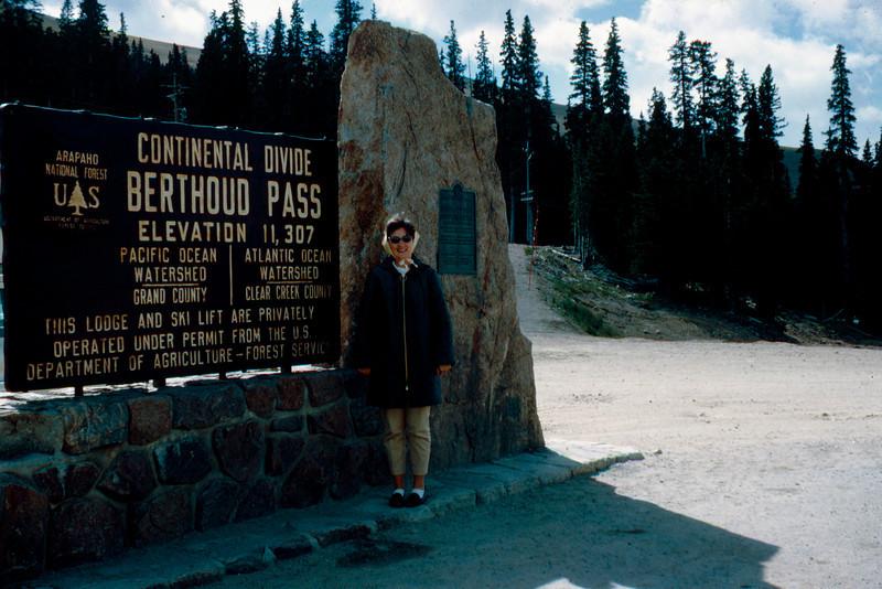 1965-09 - Rocky Mountain - Berthoud Pass & Jo