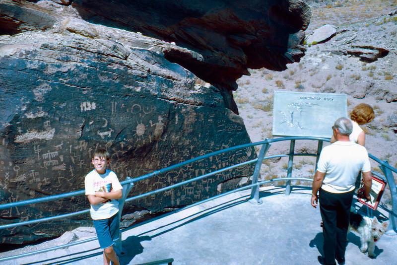 1965-09 - Petrified Forest AZ Petroglyphs