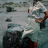 1965-09 - Jo at Petrified Forest AZ