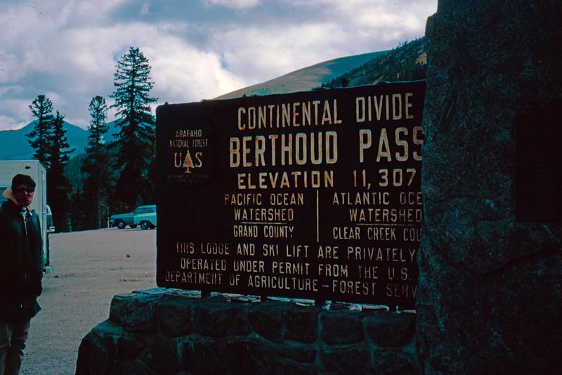 1965-09 - Rocky Mountain - Berthoud Pass