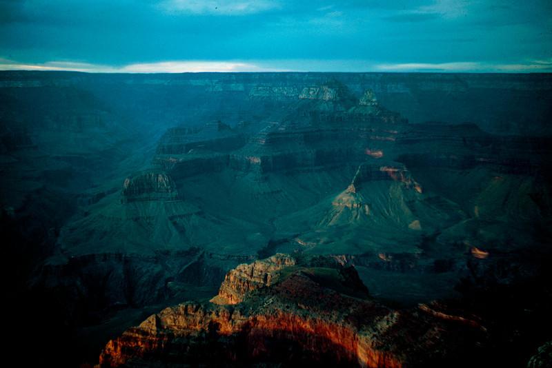 1965-09 - Grand Canyon at sunset