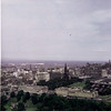 Sept 1967 The city of Edinburg with Firth of Forth and North Sea in the background.