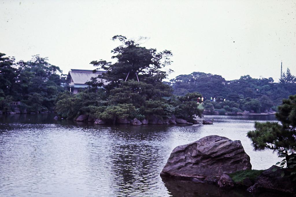 Tokyo - Pond in City Park