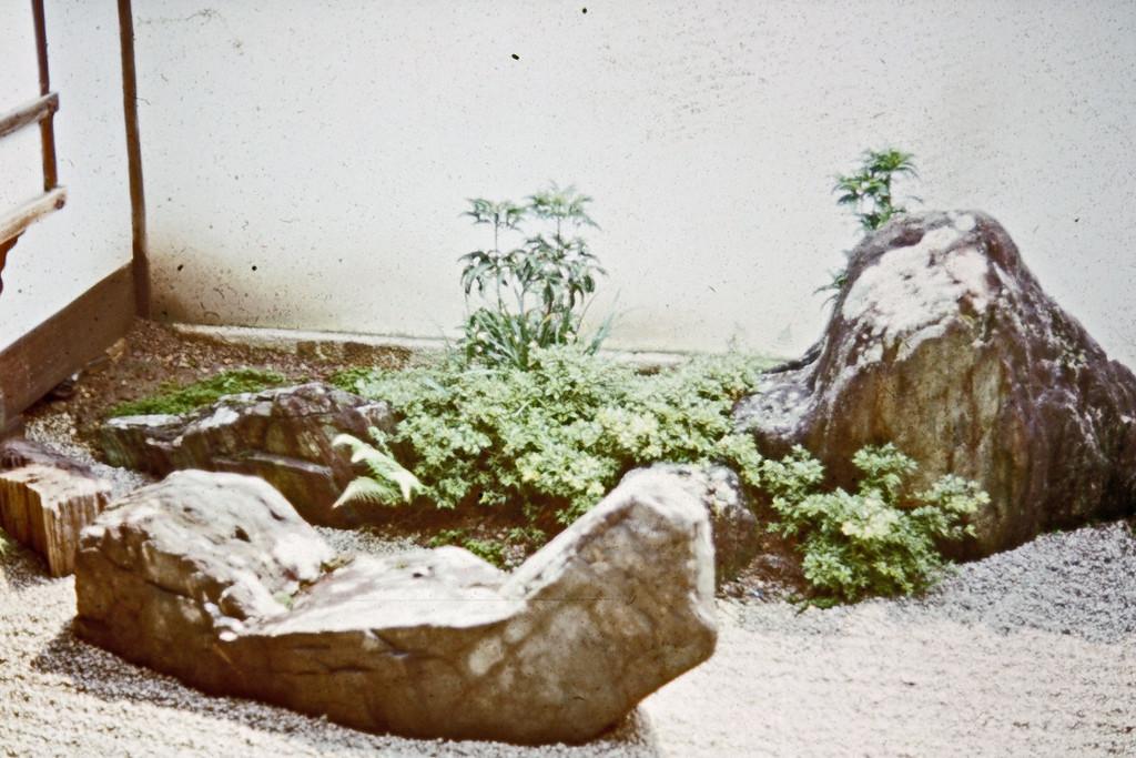Tokyo - Zen Temple Rock Garden - Boat and Mountain