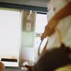 Tea Time on train to Sun Moon Lake