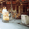 Taipei - Woman with Baby Carriage