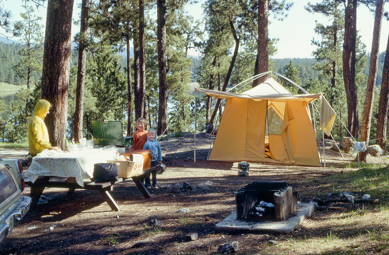 Camping, Custer State Park, SD