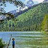 Brent awed at Jenny Lake view