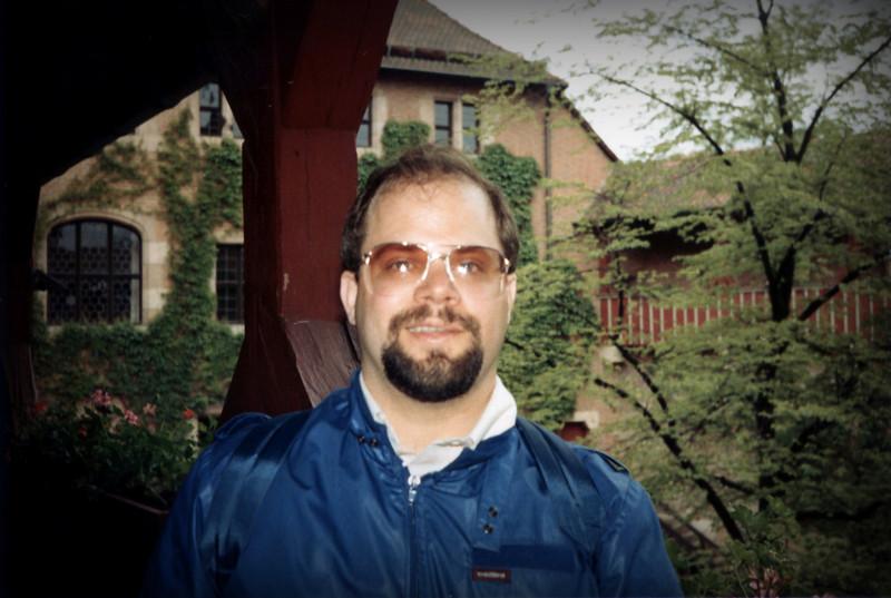 Tom in Nürnberg Castle.