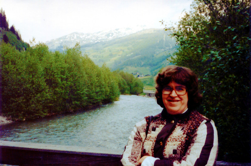 Penny on the Inn River. I beleive this is taken in Austria.
