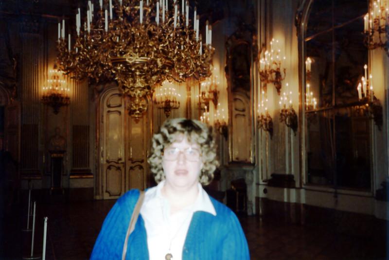 Penny in Schloss Schoenbrunn - Vienna, Austria