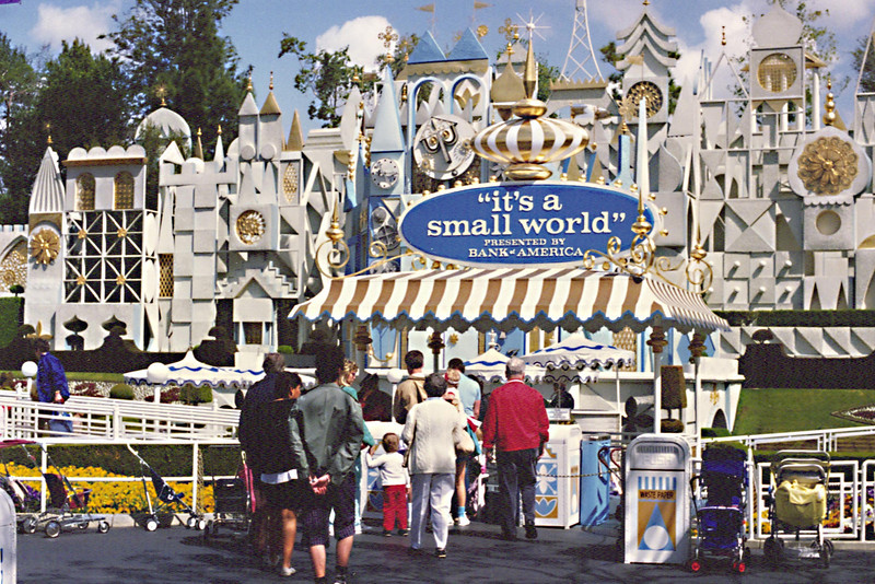 Disneyland - Entrance to Small World