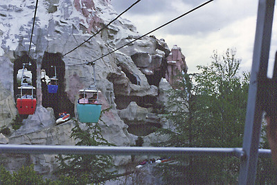 Disneyland - Skyride