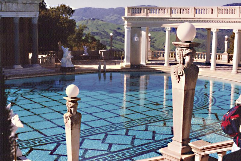 Hearst Castle - Courtyard Pool