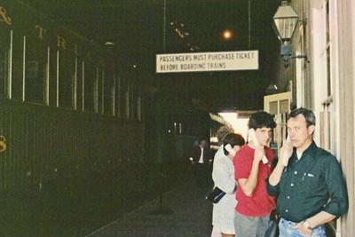 Sacramento Railroad Museum - Char, Jeff, Dwaine