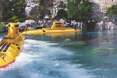 Disneyland - Submarine Ride