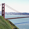 Golden Gate Bridge - San Francisco in background