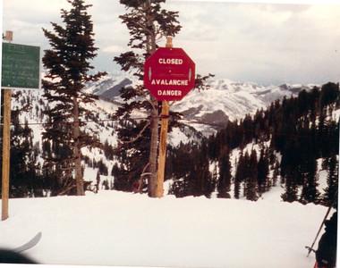 198703 Ski Utah