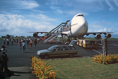 Fiji trip 1989 - I think this is from a stopover in Tahiti.