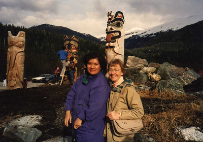 Winona Wallace, Our Program Director and Wife of Totem Pole Sculptor