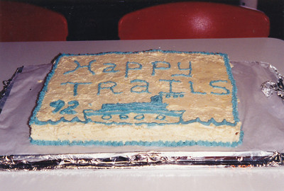 Farewell Cake made for our group