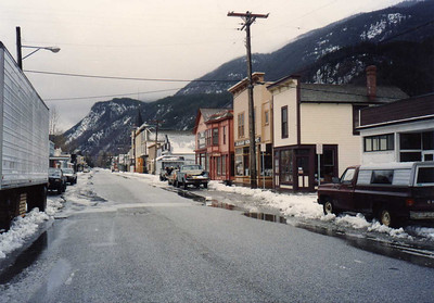 Skagway--Very Quiet, Since Most of the Residents Were on Vacation