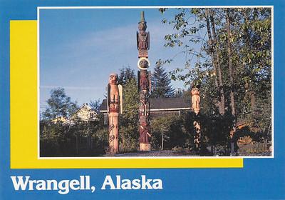 Totem Park in Wrangell