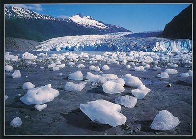 At Mendenhall Glacier, Juneau