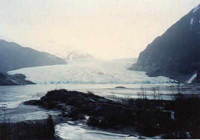 Part of Mendenhall Glacier, Juneau