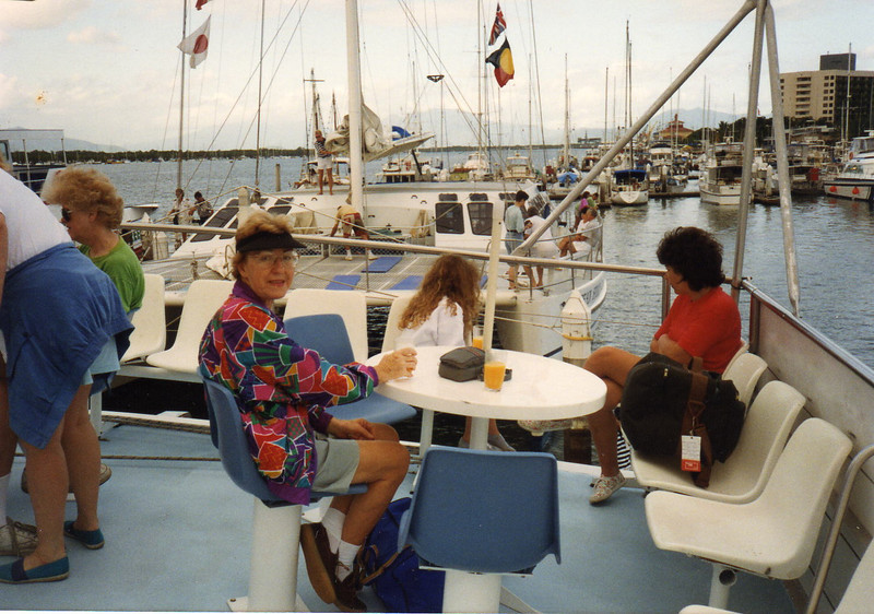 On the Ocean Spirit Catamaran