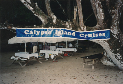 Calypso Island Cruise through Gulf of Nicoya from Puntarenas to Tortug Island in the Pacific Ocean