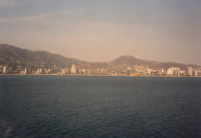 Entering a Mexican city (which?)