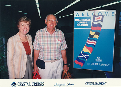 Crystal Harmony Panama Canal Cruise--1991