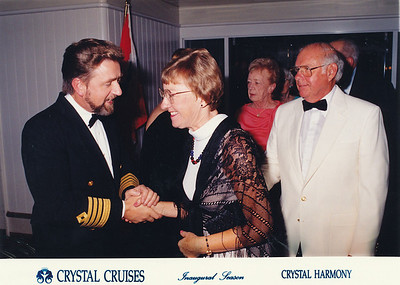 Meet the Captain (shook hands in those days)