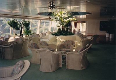 Views of the ship--one of the Lounges