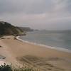 Beach near Tenby on Bristol Channel
