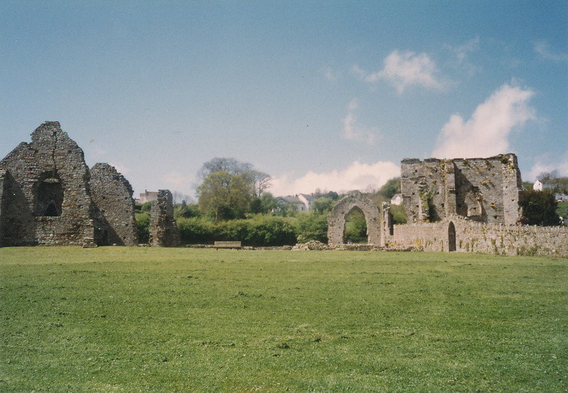 St. Dogmael's Abbey--1100s (on west coast of Wales)