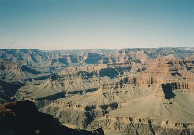 Views of Grand Canyon along West Rim