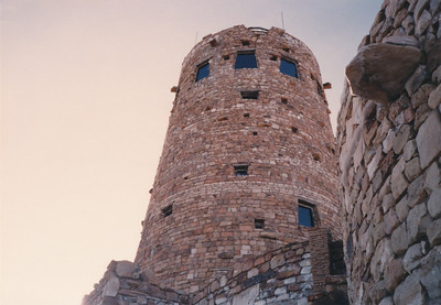 Watchtower at Desert View--end of East Rim Drive