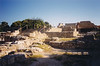 Crete--Minoan Palace of Knossos (1700-1400 B.C.--portions have been restored and continuing to be restored