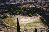 Ruins of Theatre of Dionysus--a classic Greek theatre