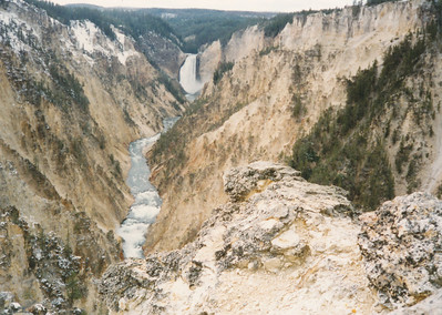 Grand Canyon of Yellowstone River