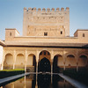In Granada--Alhambra--famous Moorish fortress/palace--fell in 1492