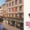 Our hotel in Appenzell, Switzerland