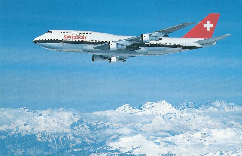 We flew on Swissair both ways