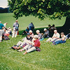 Lunch break under a Linden tree near Gontenbad
