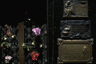Eva Peron grave Buenos Aires, Argentina