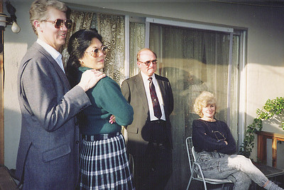 Larry & Clarita Vollenweider, Gene Smith, Mavis Butler